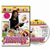DVD - Patchwork Embutido - Volume 3