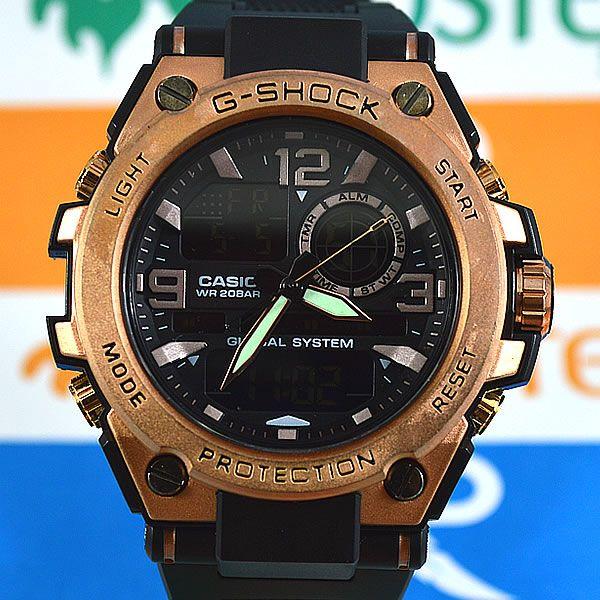 c27e2a23d3f Relógio Casio G Shock Steel Aço Cobre Masculino à prova d´água + Caixa  Original