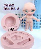 Boneca  Kit kell  + olhos resinados  382 P