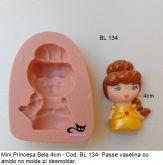 Princesa Bela com 4cm