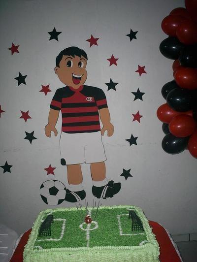 Painél Jogador do Flamengo