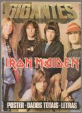 Revista - Gigantes do Rock - Iron Maiden