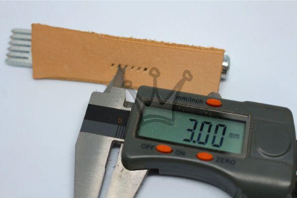 Kit Cinzel 3,0mm - Furo Diamante - Jogo 4pç