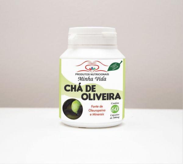 Chá de Oliveira - C/ 60 Cápsulas