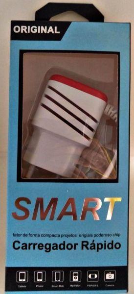 Carregador Celular Tomada Smart V8