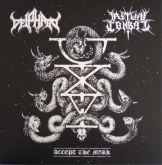 DEIPHAGO / RITUAL COMBAT - Accept the Mark - LP(Split)