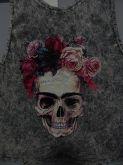 Blusa Flower Skull