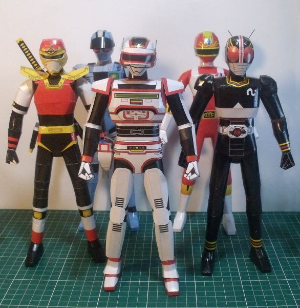 Coleção Tokusatsu - Arquivo
