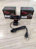 Webcam USB 2.0 Giratória  720MP em HD com Microfone P2
