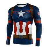 Camiseta Capitão América Ref2557