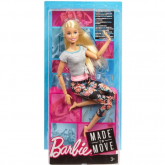 Boneca Barbie - Made to move Loira