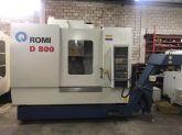 Centro de Usinagem Vertical ROMI D 800 Usado