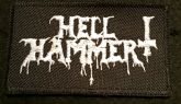 HELLHAMMER - PATCH 10CM X 6CM