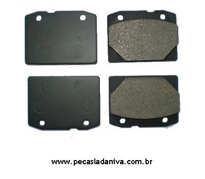 Pastilha de Freio Dianteira Laika Jogo  c/ 4 Peças (Novas) Ref. 0118