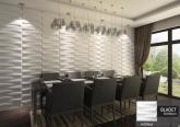 Revestimento 3D Placa 3D Painel 3D Board - Fibra de Bambu Original - Bladet