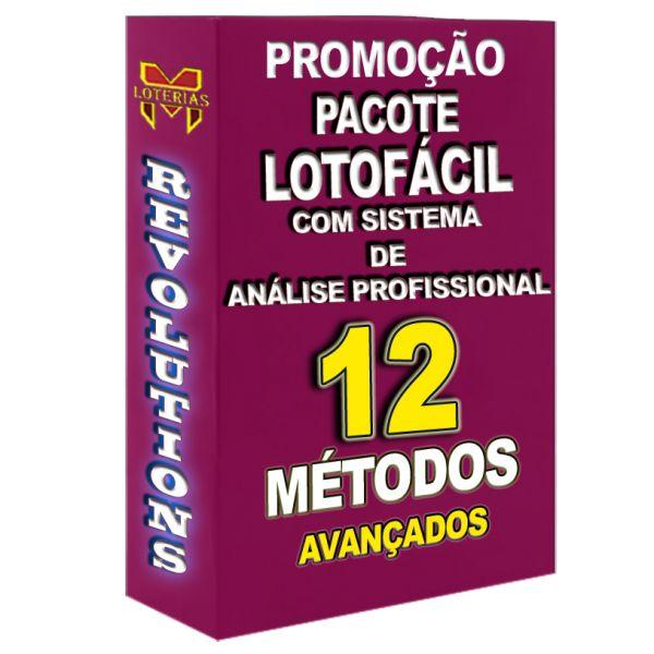 12 Métodos profissionais para LOTOFÁCIL.