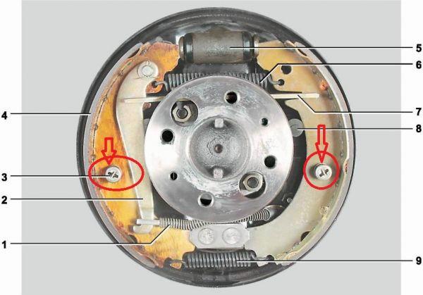 Reparo Centralizador Patim Freio Traseiro Cada Roda Laika (Novo) Ref. 0098