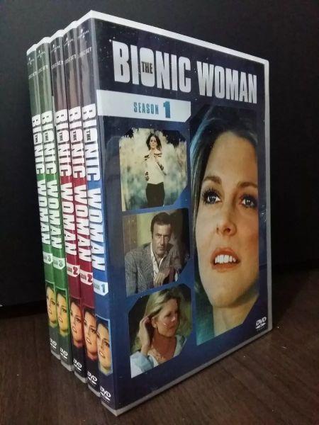 A MULHER BIÔNICA (Bionic Woman) - Série Completa Dublada