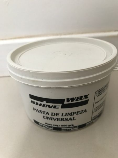 Pasta De Limpeza Universal - Xispa - Shine Wax - 500 Gramas - Cód. RM258