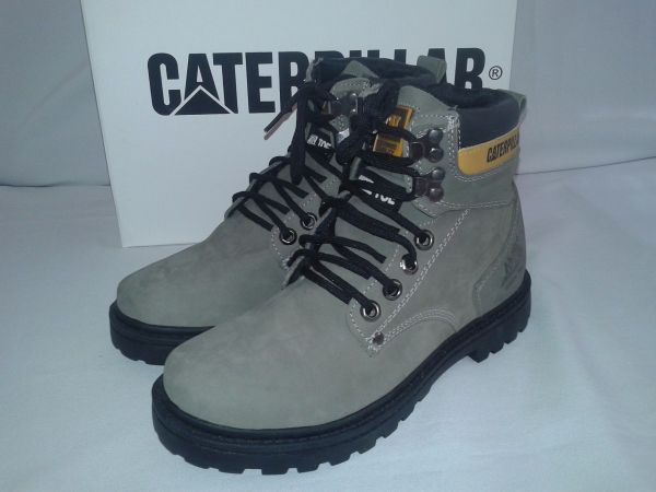 4c471a38e22af Bota Caterpillar Cinza - Outlet Ser Chic