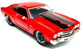 Dom's Chevy Chevelle SS 1969 - Miniatura Jada Toys 1:24 Velozes E Furiosos 8