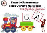 Trem de PAREAMENTO com letra Cursiva