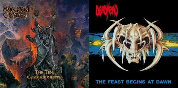Combo Malevolent Creation + Dead Head CDs