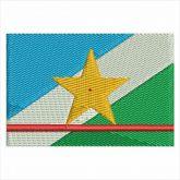 Bandeira de Roraima Matriz de Bordado