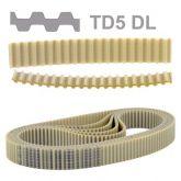 Correia T5 525 Duplo Dente  Sincronizadora Poliuretano (525 T5DL) Rexon
