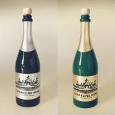 Garrafa de champanhe que aparece e desaparece  #778