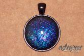 Pingente de Supernova Azul