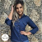 Camisa Jeans { Ancoras }