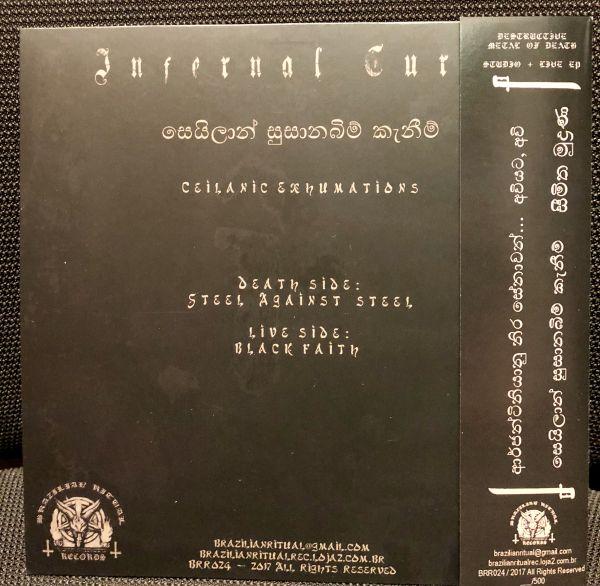 INFERNAL CURSE - Ceilanic Exhumations - 7