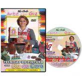 DVD - Pintura com Giz de Cera