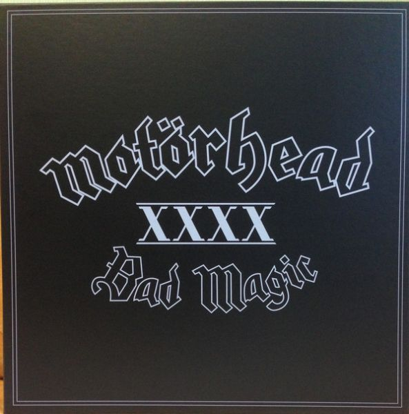 Box - Motörhead – Bad Magic(LP + CD + poster + patches)