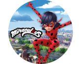 Papel Arroz Miraculous Redondo 007 1un