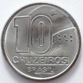 10 Cruzeiros 1991 SOB/FC