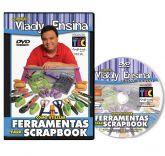 DVD Vlady Ensina - Como utilizar ferramentas para Scrapbook