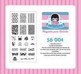 Placa Sugar Bubbles - SB004