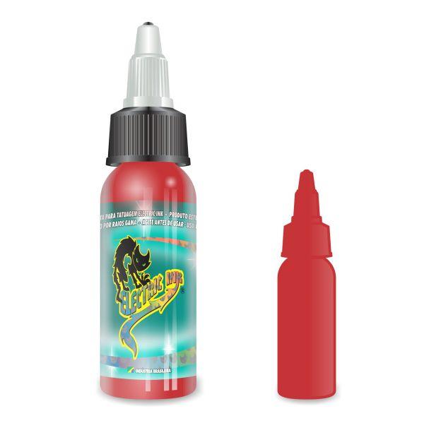 Tinta Vermelho Bombeiro Electric Ink - 30 ml