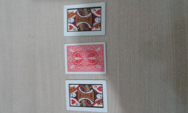 Automatic 3 card monte (tamanho pequeno)  #1367