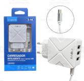 CARREGADOR INTELIGENTE Com 3 portas USB CAR-9005