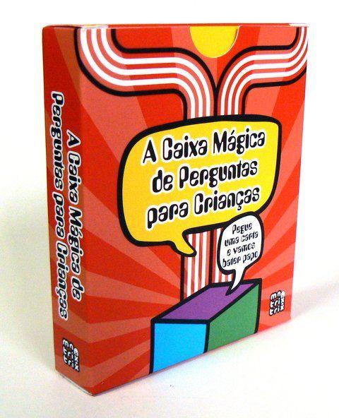 A Caixa Mágica de Perguntas para Crianças