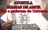 APOSTILA MAGIAS DE AMOR – Èsù o poderoso do Universo