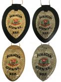 Distintivo Policia Civil de São Paulo mod Águia - PCESP