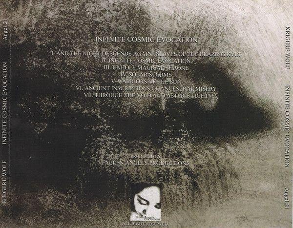 Krigere Wolf – Infinite Cosmic Evocation - CD