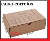 Caixa de Papelão para envio Correio S-01 C:21 x L:14 x A:7 cm - Parda