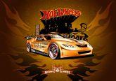 Papel Arroz Hot Wheels A4 004 1un