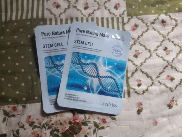 Sheet Mask Stem Cell Secriss