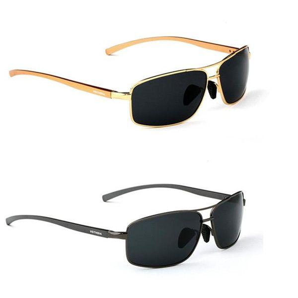 cc3ed6966 Óculos de sol Masculino alumínio e magnésio Lentes Polarizadas proteção  uv400